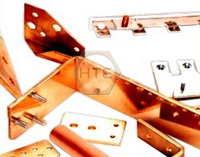 copper fabricated busbars